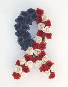 memorial day wreath. i'm always looking for new ideas for blake. i love this!