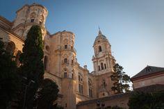 la cathédrale de Malaga