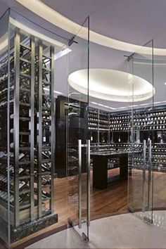 Modern Wine Cellar Design  Let me be YOUR Realtor!  For more Home Decorating  Designing Ideas or any Home Improvement Tips: https://www.facebook.com/teamalliancerealty  Team Alliance Realty www.talliance.ca