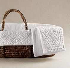 moses basket - beautiful but not to be used for carrying which is what I want to do.