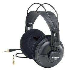 Samson SR950 Professional Studio Reference Headphones Close Back 50mm Drivers #SamsonTechnologies