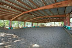 Beautiful Covered Arena