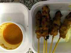 tales of a travelling sushi. Scarborough Toronto, Chicken Satay, Malaysian Food, Sushi, Lunch, Snacks, Meat, Appetizers, Eat Lunch