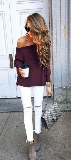 Shop this look! Sweater outfit perfect for fall. Click to get the look for less. #ShopStyle #fallfashion #getthelookforless #affiliatelink
