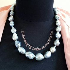 Silver Baroque Sea Pearl For price wa 081353686161