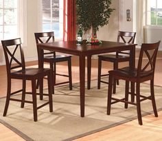 Kitchen: Awesome Counter Height Kitchen Table And Chairs Also Counter Height Dining Table And Chairs from Counter Height Kitchen Table Sets - Sets A Wise Choice