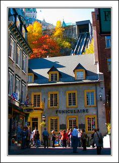Le Funiculaire - Quebec, Quebec