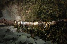 Nydelige ringer i fra gullsmeden i Arendal .