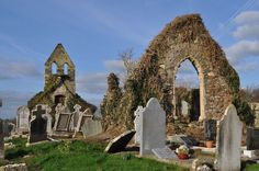 Medieval church at Mayglass, Co. Wexford