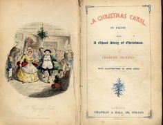 A Christmas Carol ~ One of my favourites!