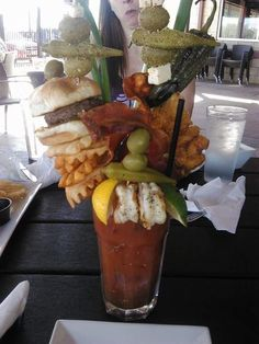 Now that's a bloody mary!