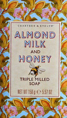 Crabtree & Evelyn Heritage Soaps: Almond Milk and Honey