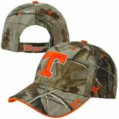 '47 Brand Tennessee Volunteers Frost Adjustable Hat - Realtree Camo