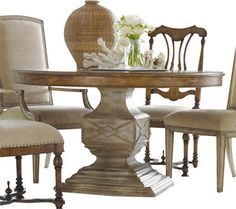 Maison Jardin Stone Top Round Dining Table
