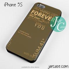 SUM 41 Band 4 Phone case for iPhone 4/4s/5/5c/5s/6/6 plus