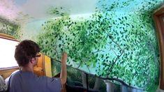 Leaves and Rocks - Mural Joe