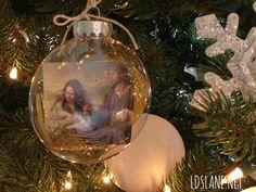 Christmas Ornament Tutorial by LdsLane.net