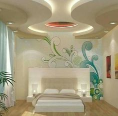 4 Astonishing Useful Ideas: False Ceiling Wedding Beautiful false ceiling hall bedrooms.False Ceiling Design With Chandelier false ceiling modern led.L Shaped False Ceiling Design. Ceiling Design Bedroom, Bedroom False Ceiling Design, Bedroom Design, Home Decor, Modern Interior Design, Interior Design, Bedroom Ceiling, Roof Design, Living Room Designs