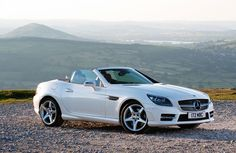 The first Merc roadster ever to be powered by a diesel engine, the new SLK