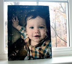 Transfer a photo to a canvas!