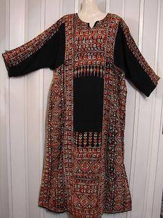 BEDOUIN Hand X Stitched PALESTINIAN ABAYA