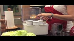 Basic instruction video how to use the 13 cup Kitchenaid food processor
