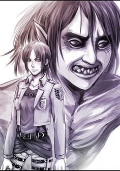 Ymir, Attack On Titan, Anime, Shingeki No Kyojin, Historia, Cartoon Movies, Anime Music, Animation, Anime Shows