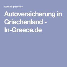 Autoversicherung in Griechenland - In-Greece.de