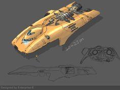 Own corvette design 01 by Enterprise-E.deviantart.com on @deviantART