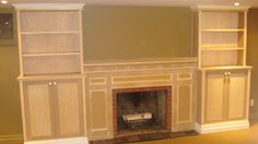 fireplace surrounds with bookcases | Blair Bailey Renovations & Custom Creations has 18 reviews and average ...