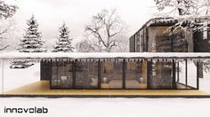 #WinterIsComing #3D #architecture 3d Architectural Visualization, 3d Architecture, Winter Is Coming, 3 D, Cabin, Interior Design, House Styles, Outdoor, Home Decor