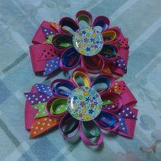 Multicolor flower