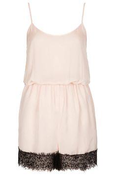 Eyelash Lace Teddy - Nightwear - Lingerie & Nightwear - Clothing - Topshop