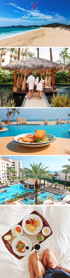Grab your family and friends and escape to an all inclusive Mexican getaway in paradise. Indulge in unlimited eats, beach views, and fun when you go #HyattAllIn. | Hyatt Ziva Los Cabos