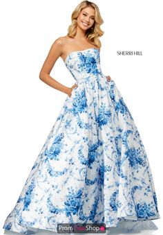 c2d917cbcb Make a bold fashion statement and wear this Sherri Hill ball gown 52620 for  your special