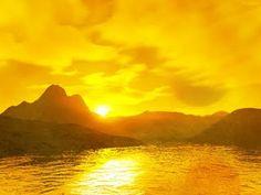 happy yellow sky