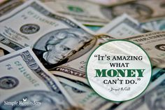 """""""It's amazing what money can't do.""""Bryant McGill Photo by Jenni Young Bryant Mcgill, Simple Reminders, Whats Good, Word Pictures, Fb Page, What To Read, Amazing Quotes, Good Advice, Food For Thought"""