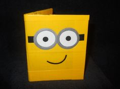 Two Eyed Minion Inspired Duck Tape Wallet by JustTapingAround, $10.00