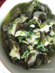 Sicilian Marinated Artichoke Recipe