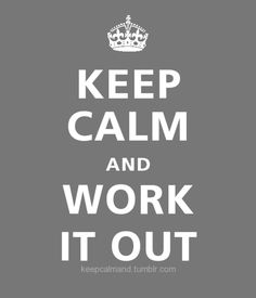 ...work it out
