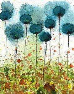 Watercolor by PopwheelArt, Jennifer Comstock