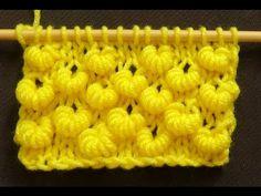 Crochet Beautiful Designs With Knitting Patterns - Home Ideas Puff Stitch Crochet, Crochet Chart, Knit Or Crochet, Lace Knitting, Knitting Stitches, Crochet Shrugs, Knitting Videos, Crochet Videos, Knitting Patterns