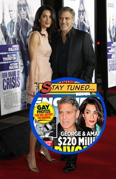 George Clooney and Amal Alamuddin just shocked the world and celebrated their one year wedding anniversary – no one thought the couple would make it this far