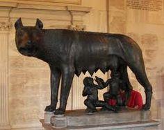 Romulus en Remus, de legendarische stichters van Rome