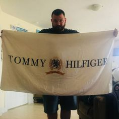 Tommy Hilfiger Vintage Tommy Hilfiger Spellout Beach Towel Size one size -  Miscellaneous for Sale - Grailed bf1c885c5b5e