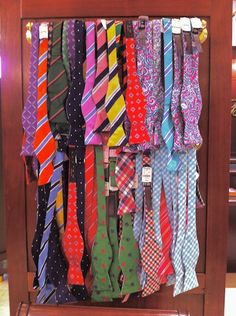 Reversible Bow Ties, Brooks Brothers