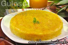 Bolo de Abacaxi Simples com Cobertura » Receitas Saudáveis, Tortas e Bolos » Guloso e Saudável