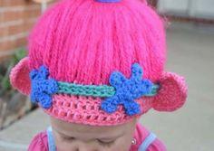 Crochet Trolls Hat Ideas Cutest Collection