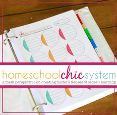 The most gorgeous #homeschool planner!