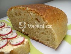 Recept na moc dobrý chléb, který necháváme kynout v domácí pekárně a pečeme v klasické troubě. Ciabatta, Banana Bread, Brot